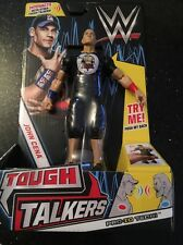 WWE Tough Talkers John Cena Figure New Mattel Wrestling NEW