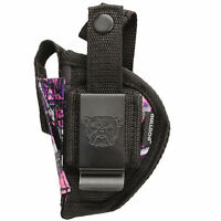 Raven Mp-25 | Muddy Girl Nylon Belt & Clip Gun Holster
