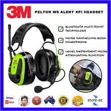 7d7aafc1723 3M PELTOR WS ALERT XPI Headset Built-in FM Radio Replaceable Cushion  Black/Green