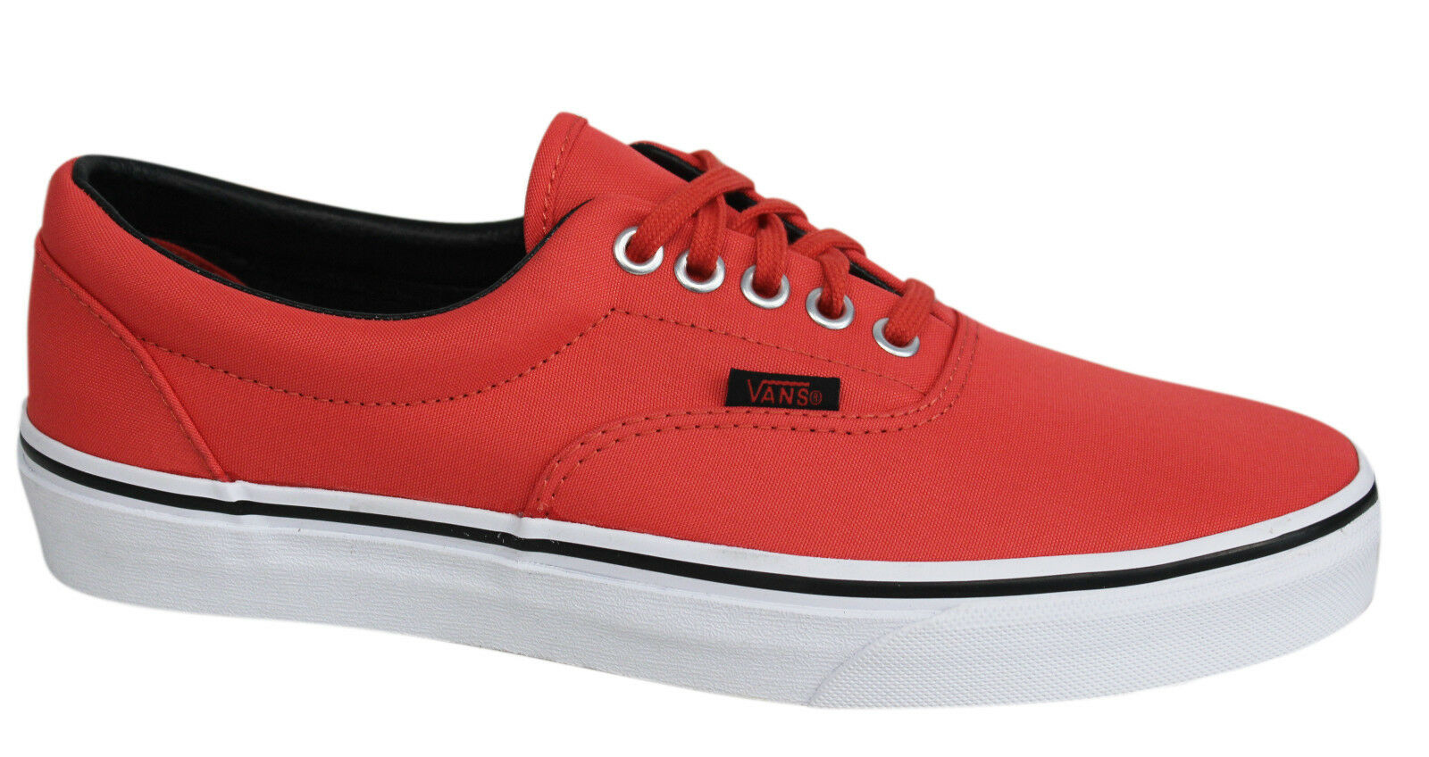 2fedee2924 Vans Off The Wall Era MLX Unisex Cayenne Lace Up Canvas Trainers ...