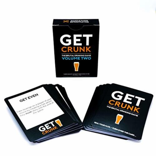 Get Crunk Volume 2 Brutal Party Card Game Drinking Hen And Stag Night Games Pack