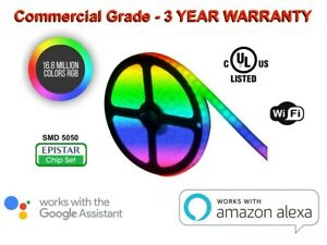 Professional-LED-Strip-Light-Kit-RGB-5050-Commercial-Grade-for-Indoor-amp-Outdoor