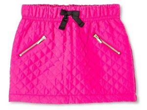 Genuine Kids By Oshkosh Toddler Girls' Quilt Pattern Mini Skirt Vivid Pink 2t 4t Fine Craftsmanship Girls' Clothing (newborn-5t) Baby & Toddler Clothing