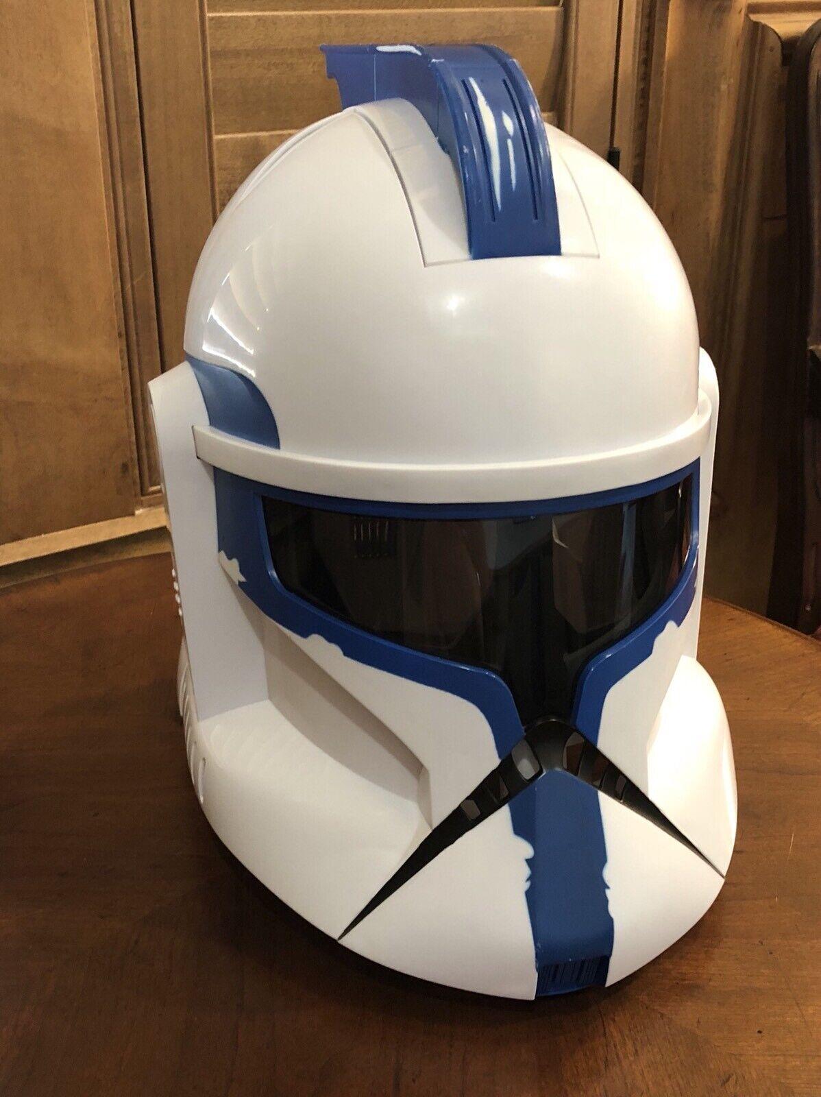 Vintage Star Wars 501st Clone Trooper Voice Changer Helmet Wal-Mart Exclusive