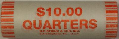 2002 D Ohio State Quarter BU Roll 40 Coins