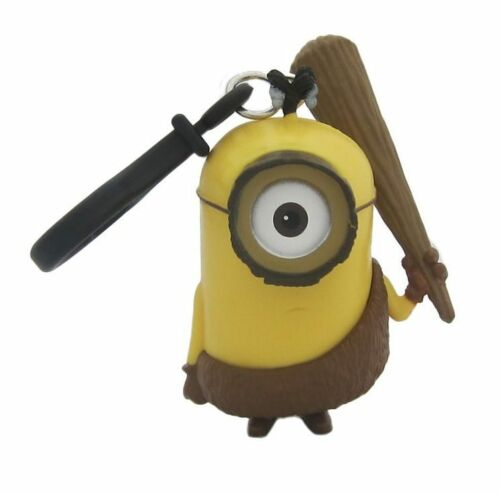 Despicable Me Minions Caveman 3D Figural Molded Keychain