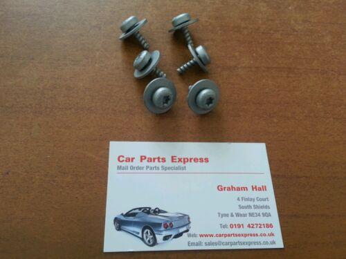 Origine FORD Torx Tête Vis Set x6 RS Cosworth trim vis XR set arch liner etc