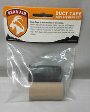 "NEW McNett Gear Aid Duct Tape Field Repair Kit 2-Pack Green & Tan 2""x50"" Rolls"