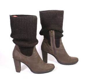 Stiefel 21s Braun Gr406 Damen Leder Sock 5Strickbesatz O'polo Marc Boots Details Zu N8XnkZ0wOP