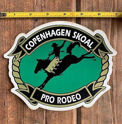 COPENHAGEN SKOAL PRO-RODEO 6.5INCH RECTANGLE DECAL