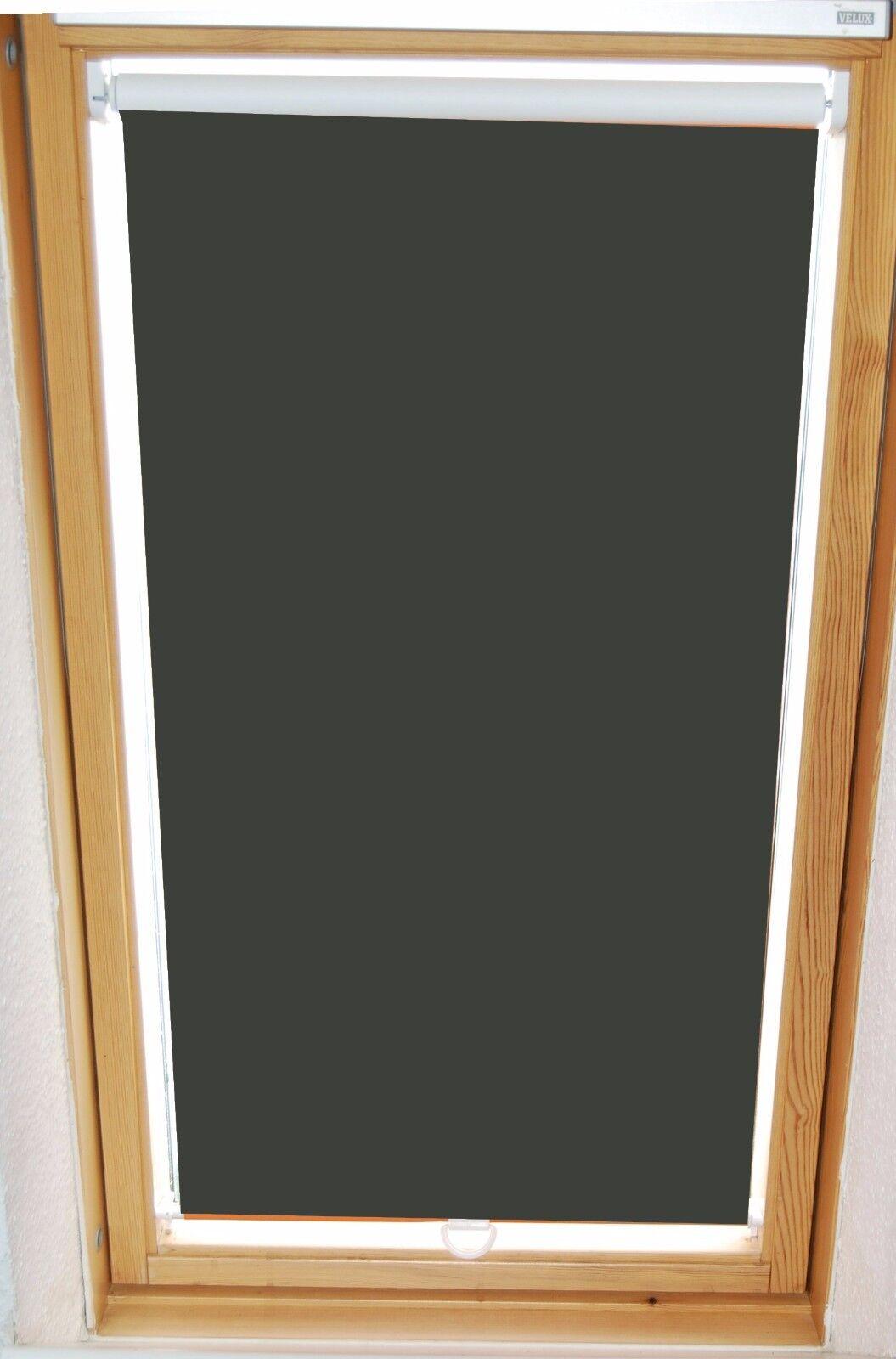 Dachfenster-Rollo Verdunkelung 328 anthrazit HK für Velux Typ GGL GHL GTL GPL | Verpackungsvielfalt  | Vogue  | Vorzüglich