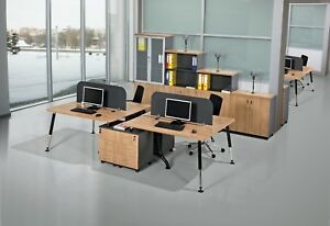 Buromobelprogramme Burotisch Arbeitstisch Workstation Ebay