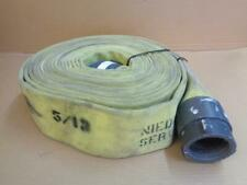 Niedner Xl 800 Municipal Fire Hose 50 X 3 With Redhead Brass Fittings 400psig