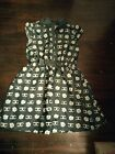 girls 14/16 dress Black With Floral Print