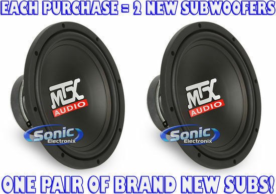 "Amplifier 1 Channel 1500w Max W// Pair of KICKER 10/"" 600W Car Subwoofers Amp Kit"