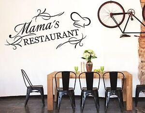 wandtattoo küche wandtatoo kochen esszimmer spruch mama's ... - Wandtattoos Küche Esszimmer