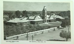 SWAN-HILL-HOSPITAL-VICTORIA-VINTAGE-POSTCARD-THE-ROSE-SERIES-P-10973