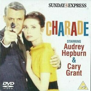 Charade Sunday Express dvd Audrey Hepburn Cary Grant