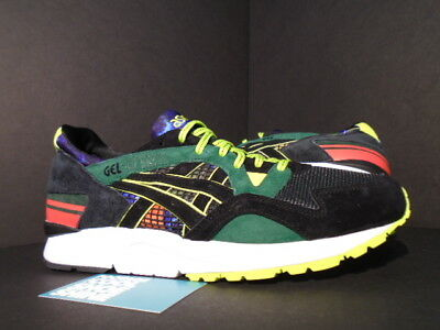 ASICS GEL LYTE V 5 WHIZ LIMITED MITA SNEAKERS RECOGNIZE BLACK GREEN RED BLUE 9.5 | eBay