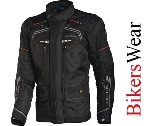 RICHA INFINITY Motorcycle Jacket with D3O BACK//SHOULDER//ELBOW PROTECTOR ZE