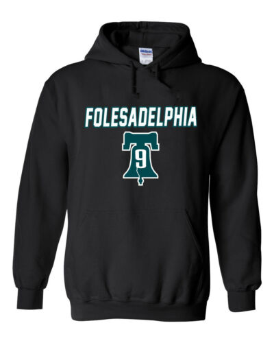 "Nick Foles Philadelphia Eagles /""Philly BELL Folesadelphia/"" Hoodie SWEATSHIRT"