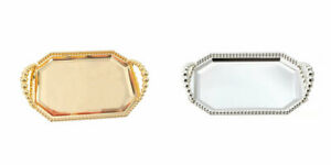 Metal-Serving-Tray-Silver-with-Handle-Serving-Plate-Party-Food-Serving-Platter