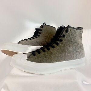 f3749c8bbe21d8 Image is loading Converse-Jack-Purcell-Signature-Woolrich-Hi-Top-Sneakers-