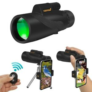 Monocular-Telescope-for-Iphone-Waterproof-High-Power-Spotting-Scope-12x50-HD-NEW