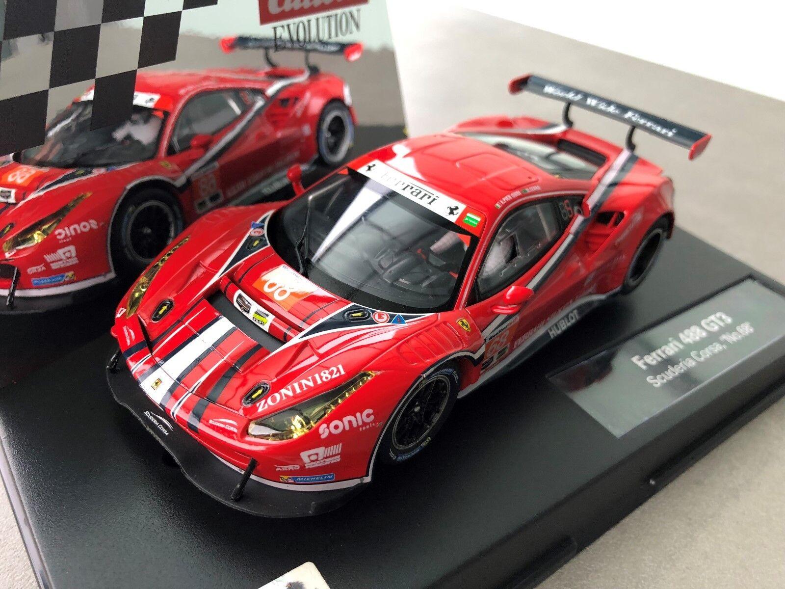 Carrera Evolution 27558 Ferrari GT3 Suderia Corsa,   no. 86   New Sealed Box