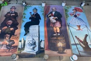 8-FOOT-TALL-Stretching-Portrait-Haunted-Mansion-Disneyland-D23-Prop-Disney-50th