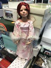 Künstlerpuppe Porzellan Puppe 82 cm. Top Zustand