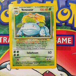 Venusaur-Holo-15-102-Original-Base-Set-Pokemon-Card-1999-Rare-99p-start