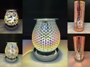 Details about 3D Design Glass Aroma Touch Lamp Oil Burner Home Fragrance Aromatherapy Light