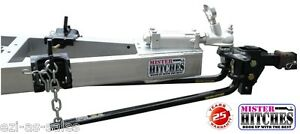 WEIGHT-DISTRIBUTION-LOAD-LEVELER-SYSTEM-HITCH-TOW-BAR-CARAVAN-600LB-275KG