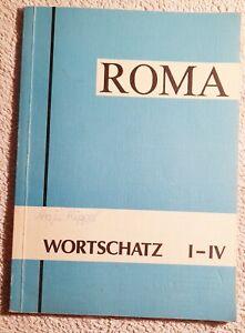 Roma Wortschatz I - IV zusammengestellt von Gerhard Hertel Buch gebunden