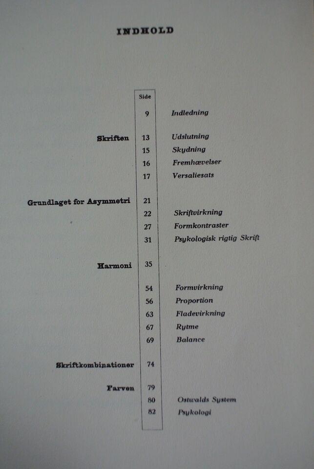 asymmetri i typografi, af henry thejls, emne: anden