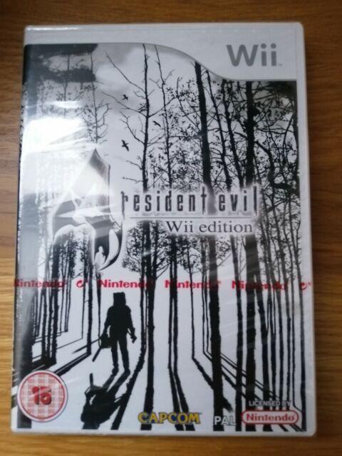 Resident Evil 4 (Nintendo Wii, 2007) NEU Rot Nintendo Strip versiegelt