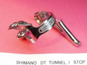 Shimano dt double cable tunnel Clip on NOS L/'eroica