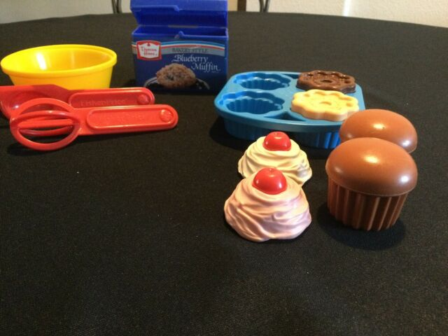 Vintage 1987 Fisher Fun With Food Pretend Baking Set 100 Complete For Sale Online Ebay