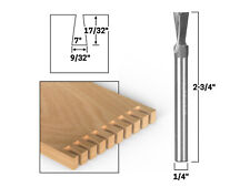 7 X 932 Solid Carbide Dovetail Router Bit 14 Shank Yonico 14810q