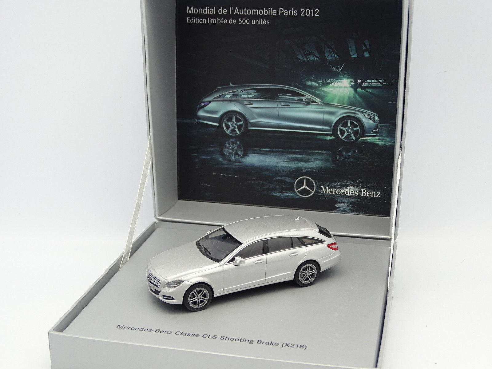 Norev 1/43 - Mercedes CLS Shooting Brake Argento Mondiale Auto 2012