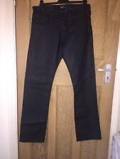"Lee Zed Hide Indigo Dark Blue Wash Straight Leg Jeans W30"" L32"" BNWT *C1"