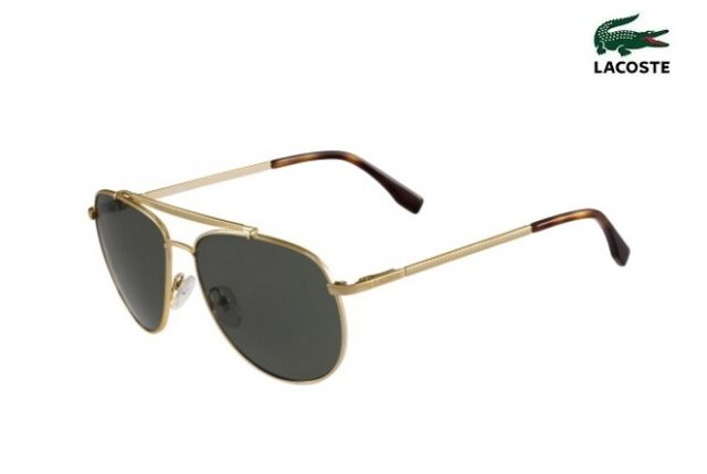 a12c58a2a097a Lacoste Sunglasses L177s Aviator 714 Gold - for sale online