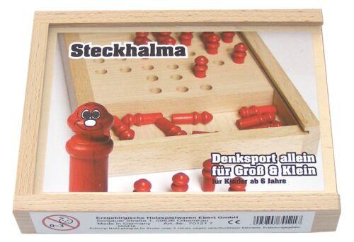 Ebert 701217 Steckhalma Erzgebirge Holzspielzeug