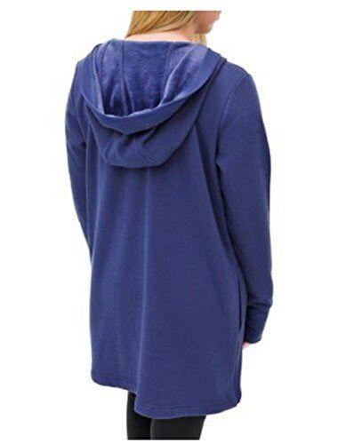 ouvert devant la en à vie de activel denim pour femmes bleu NwtCardigan en modal deoCxB
