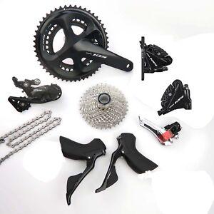 f645bf46fef Shimano 105 R7020 2 x 11 Speed 50/34 Hydraulic Disc Brake Groupset ...