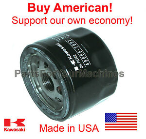 Details about GENUINE KAWASAKI OIL FILTER,  FS481V,FS541V,FS600V,FS651V,FS691V,FS730V, US MADE!