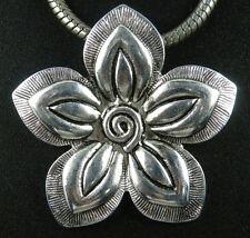 2pcs Tibetan Silver Big Flower Charms 44x43mm 13035