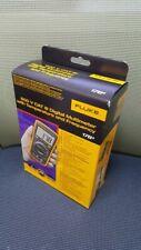 Fluke 17b Digital Multimeter Tester Dmm Ip40 10a Acdc Led Cat3 600v Fedex Ems