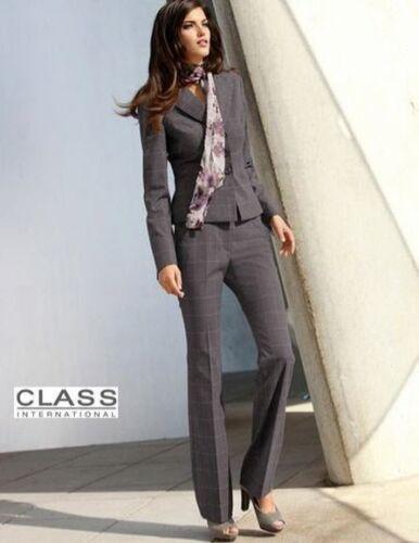 013153 Nuevo Business elegancia Karo pantalones 17 20 21 22 23 class international Taupe